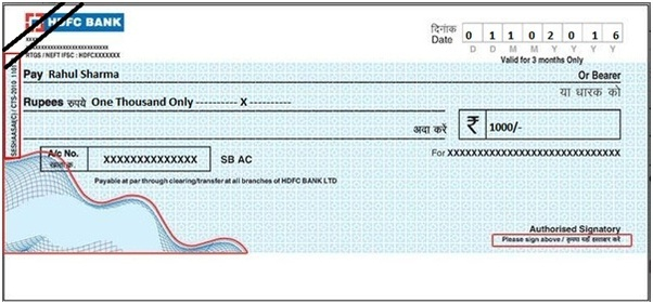 What is the difference between a bearer cheque and a crossed ...