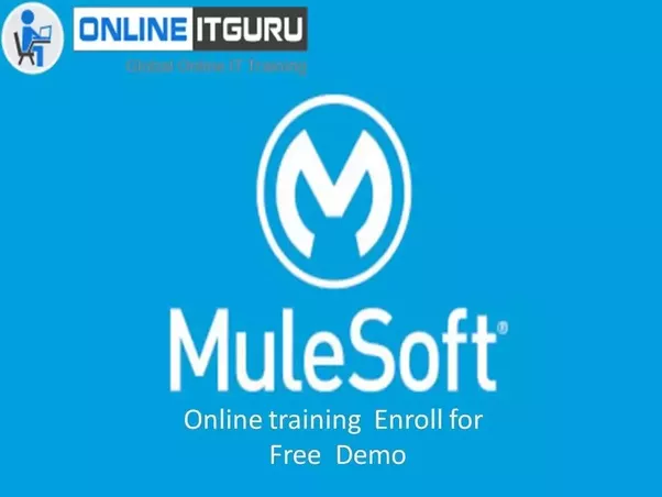 Where can I learn MuleSoft online training in India? - Quora