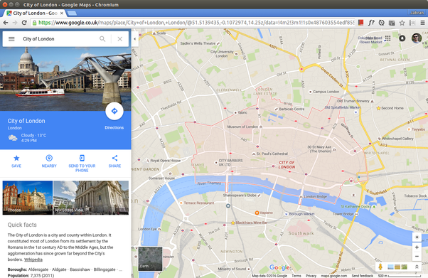 How to get the boundary coordinates of a city using the google maps you may have seen the pink boundary for cities in maps search results as in above screenshot which leads to many believe that it may be available through gumiabroncs Images
