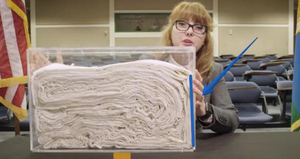 papier falten mond