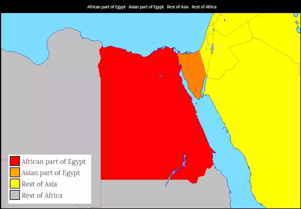 Geographically Is Egypt Part Of Asia Or Africa If Both Where Is - Is egypt in africa