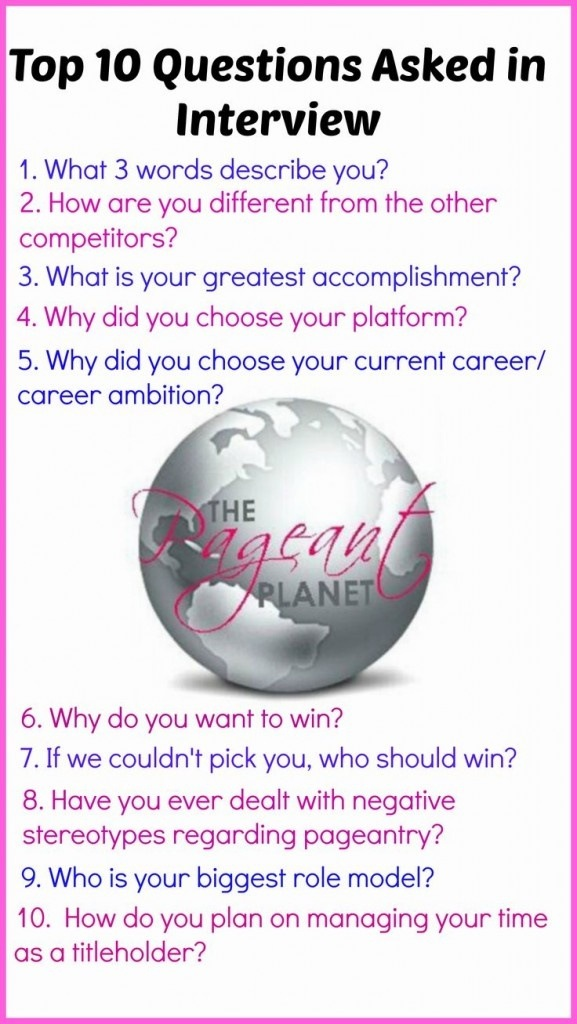 what are some commonly asked questions during a beauty
