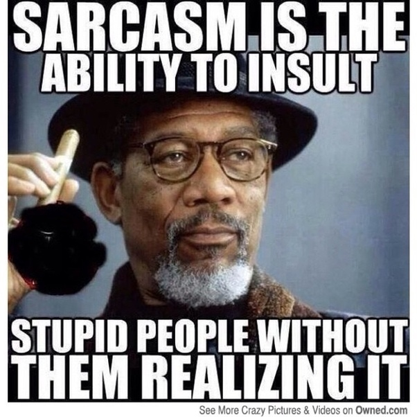 how can someone tell that another person is being sarcastic or