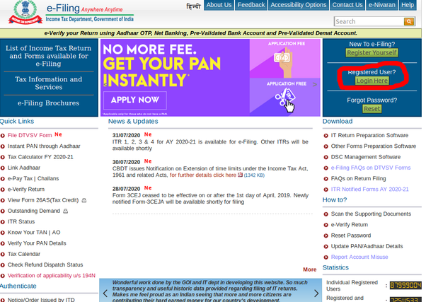 how to link my aadhar card with pan card online  quora