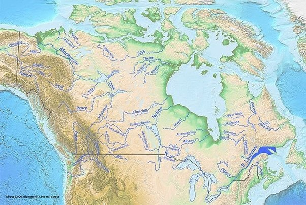What Is The Major River In Canada How Is It Important To Canada - Most important rivers in the world