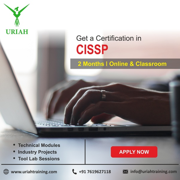 Which is the best training institute for cissp in Bangalore? - Quora