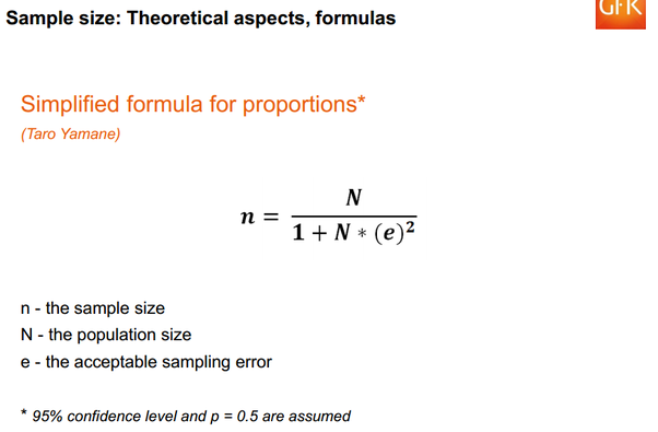 What Is Yamane Sample Calculation Quora