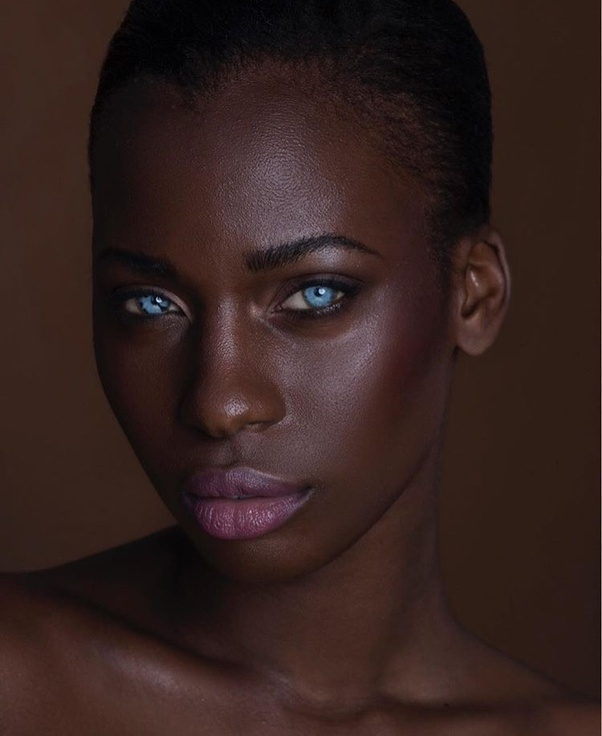 Can black people have blue eyes? - Quora