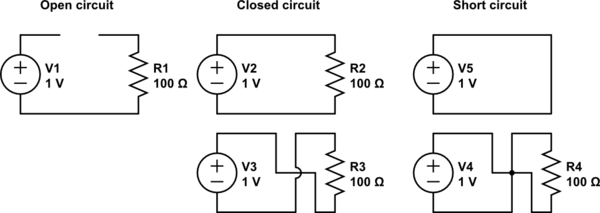 what is an open circuit