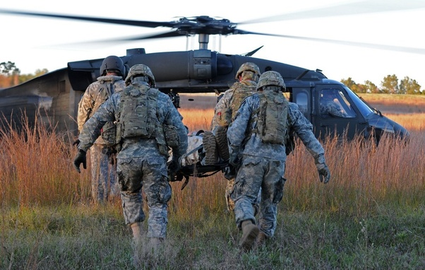 Would a helicopter pilot be considered non-combat in the US
