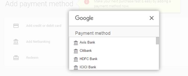 Pourquoi Google n'autorise-t-il pas les cartes de débit lors de l'achat d'applications Android sur le Play Store en Inde? Quand Google activera-t-il cette option?