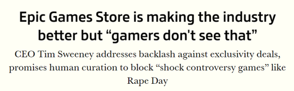 Why are so many gamers opposed to using the EPIC game store? - Quora