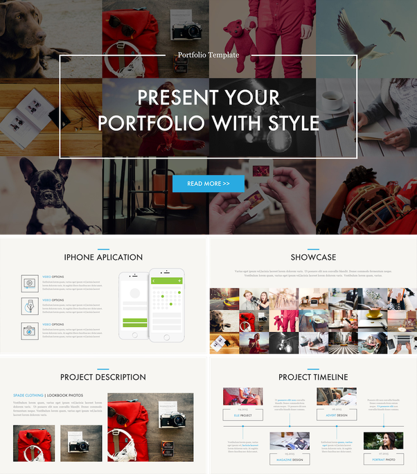 Where can i find high quality powerpoint templates quora portfolio powerpoint template toneelgroepblik Images