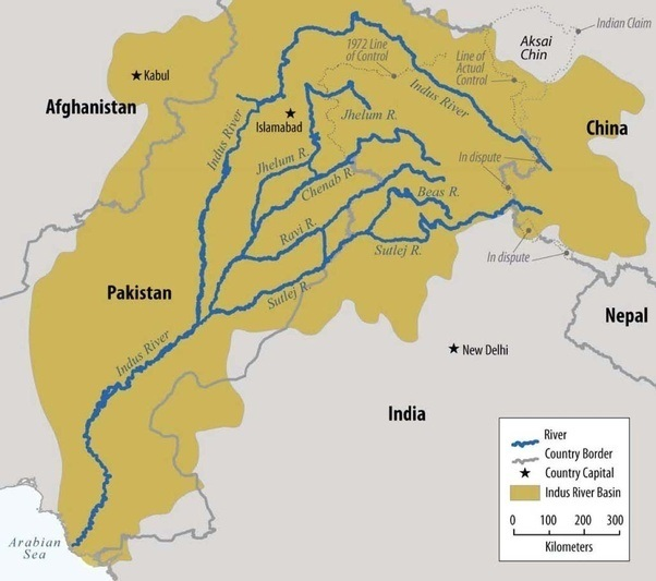 thorny issues 3 rivers to india