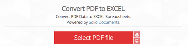 How to import tables from pdf into Database - Quora