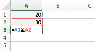 Why is the concatenate Excel formula not working? How can