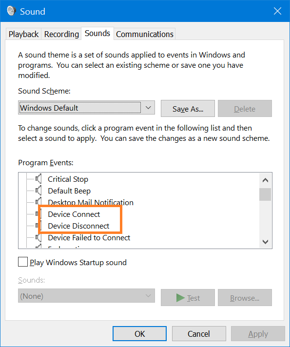 How To Turn Off The Beeps From Plugging Something Into A Usb Port On Windows 10 Quora