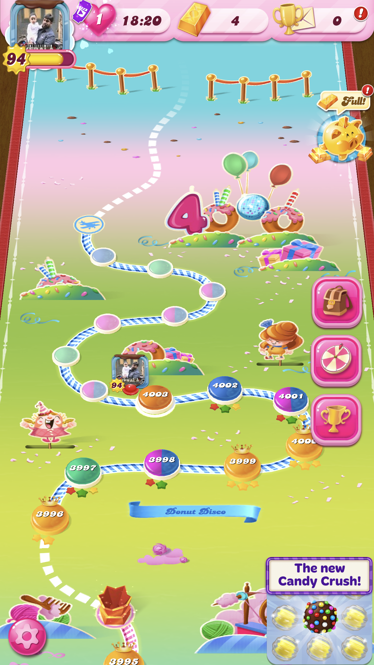 who is the highest level in candy crush saga? i passed level 3321 on