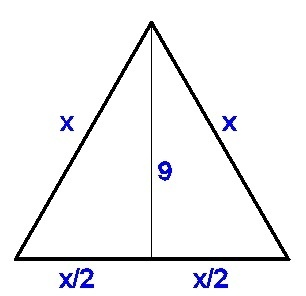 The Altitude Of An Equilateral Triangle Is Cm How Long Is Its - What is altitude