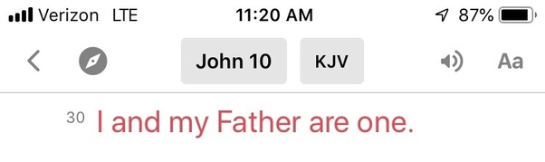 Why do people keep mistaken Jesus as God the Father when he