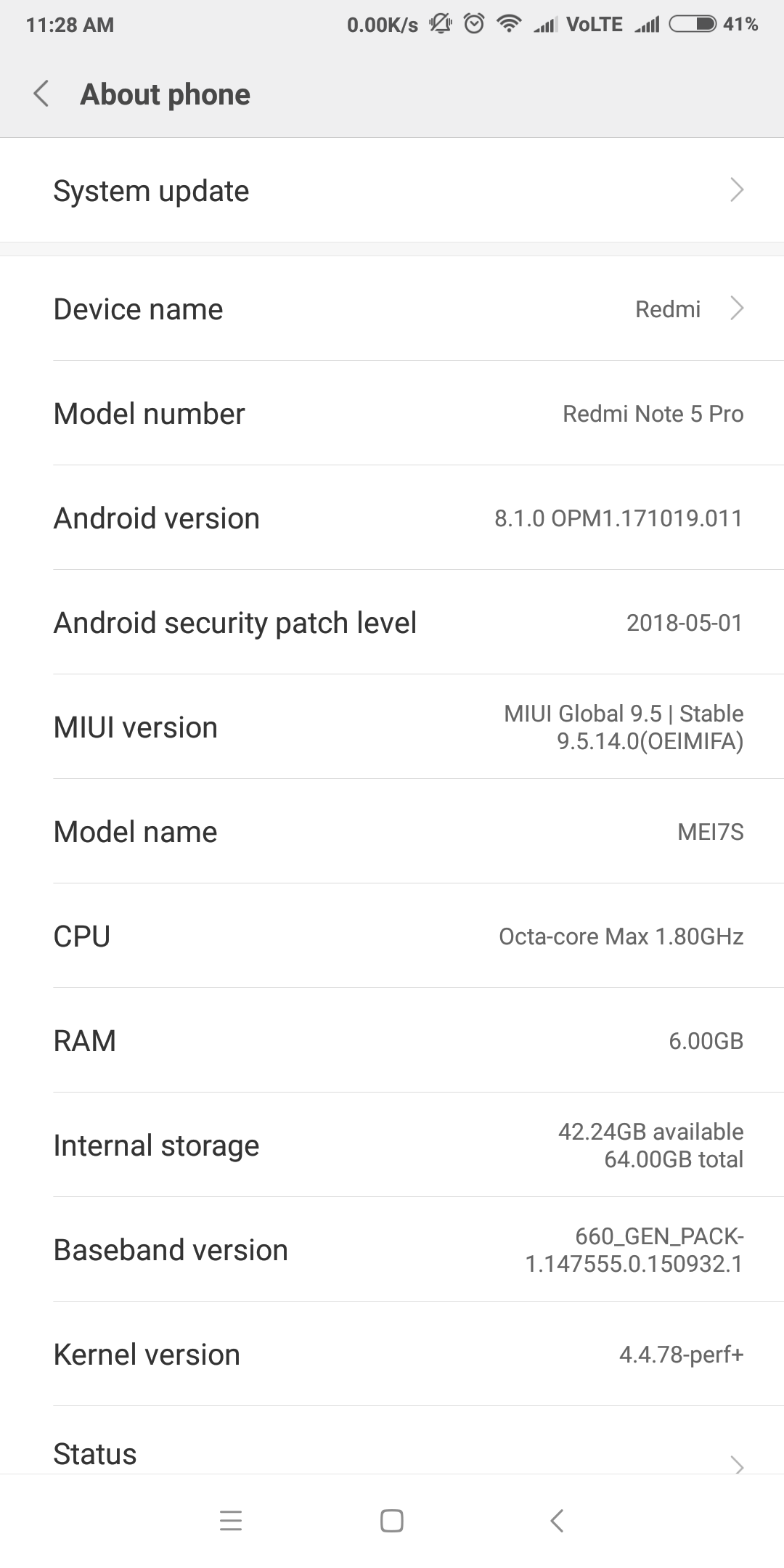 What is your review on the MIUI 9 5 14 0 update for the Redmi Note 5