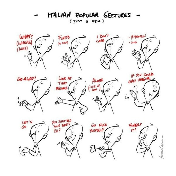 What Are Some Famous Italian Hand Gestures Quora