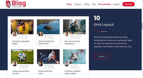 How to organize my wordpress posts into a grid layout quora your requirement and easily used in various categories it has fully customizable and easy to use and user friendly admin interface so with that you can maxwellsz