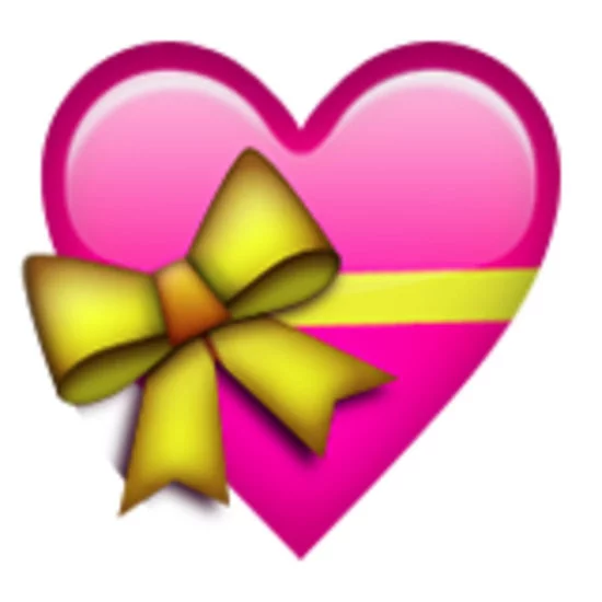 What do the different colors of hearts in emojis mean? Which