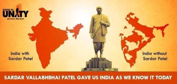How Did Sardar Patel Become The Symbol Of Unity Quora