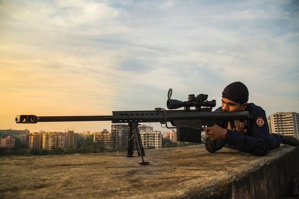 Which sniper rifle does our Indian Army use? Do we have 50 caliber
