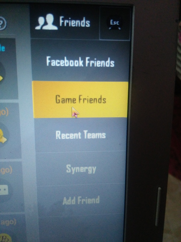 how to remove friends in pubg mobile