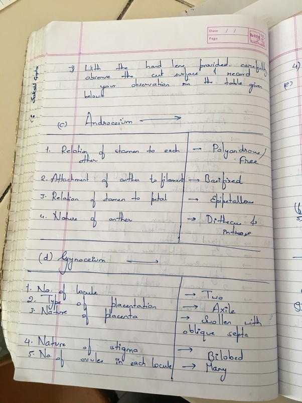 What are the probable questions for the ISC 2018 Biology practical