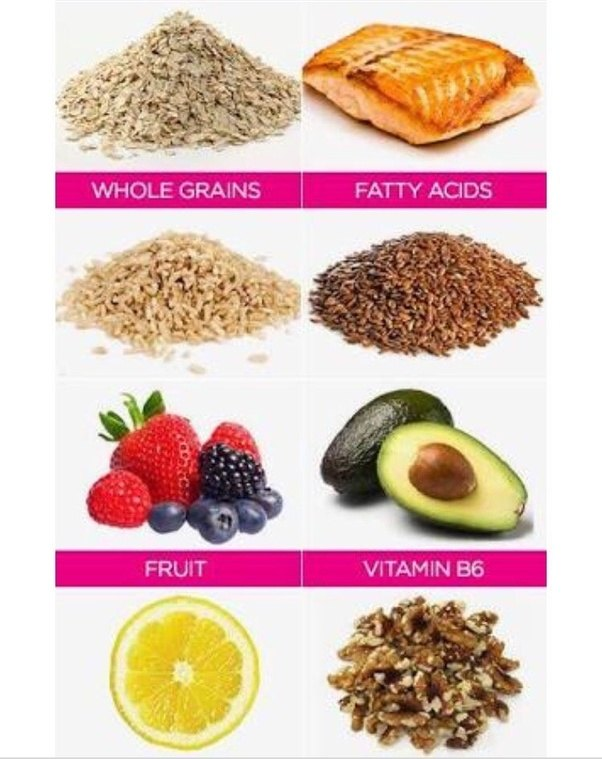 Foods that get rid of pimples