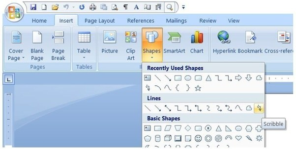 What Is The Best Tool In The Word Toolbar For Drawing