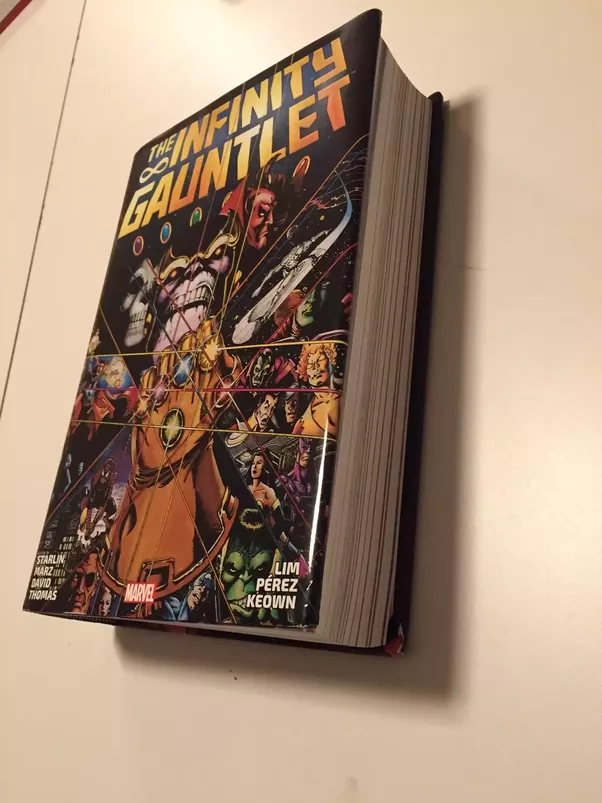 what is the complete reading order of the infinity gauntlet comics