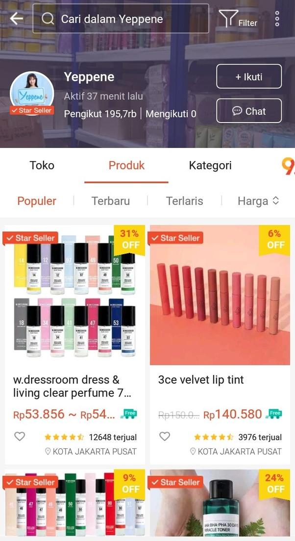 Apa Saja Rekomendasi Olshop Di Shopee Yang Menjual Skincare Korea Murah Dan Terjamin Keasliaannya Quora