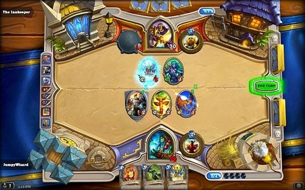 Hearthstone is a free-to-play card game and is arguably the most popular in  its genre. In Hearthstone your deck consists of minions,spells and weapons  which ...
