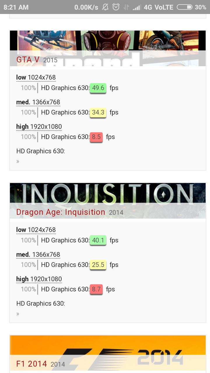 Which is better, HD 630 or UHD 630 graphics? - Quora