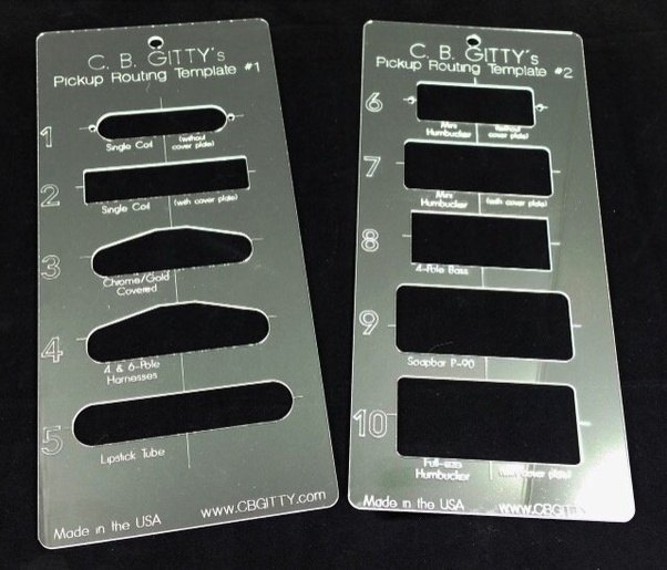 electric guitar body templates - how much does it cost to build an electric guitar parts