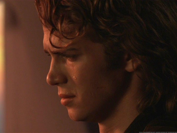 Why Was Anakin Crying In Revenge Of The Sith Quora