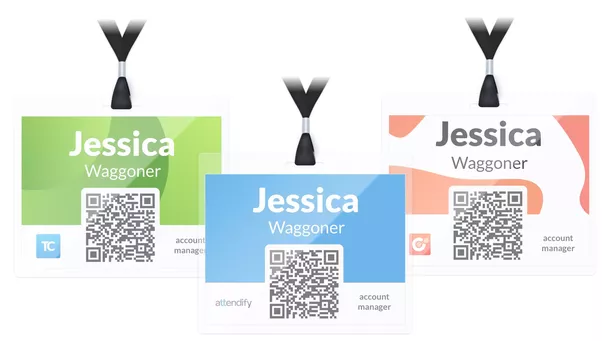 what are some examples of great conference badge design