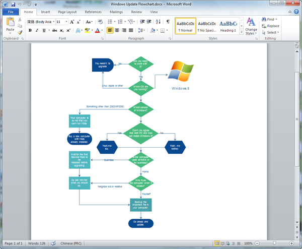 Which Ms Office Version Is The Best To Create A Flowchart Quora