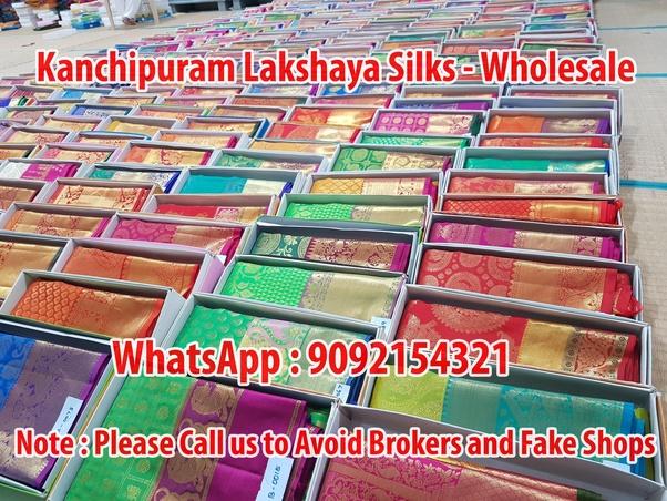 de311dc04d Kanchipuram Lakshaya Silk Sarees - Manufacturer and Wholesaler