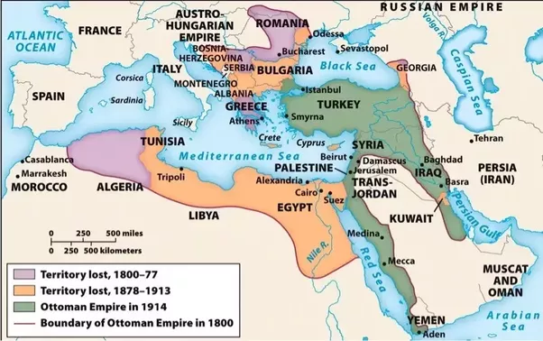 Why did the ottoman empire ally itself with germany during the first the economy was in shambles and there was unrest in even the parts of the empire that remained publicscrutiny Images