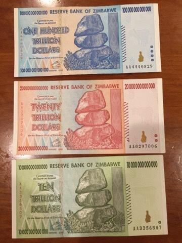 Trillion Dollar Zimbabwe Quora