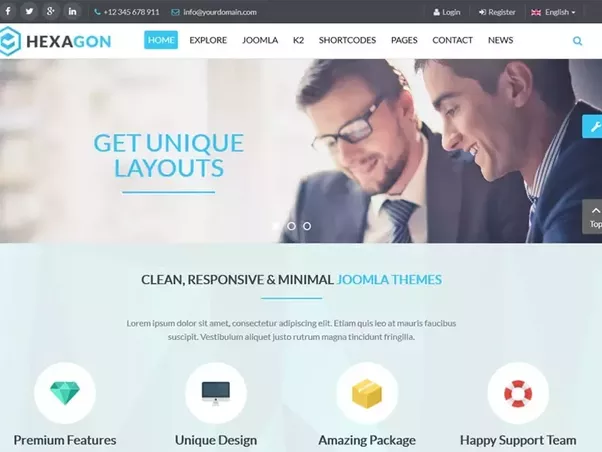 What is the best experience of WordPress and Joomla Templates? - Quora
