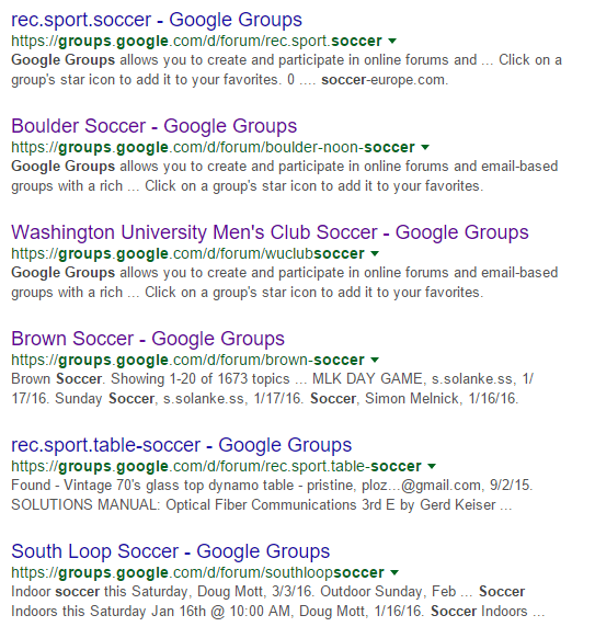 how to search keywords on google