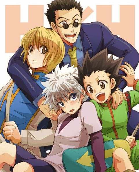 What Are Some Of The Best Anime Character Groups Of Four Quora