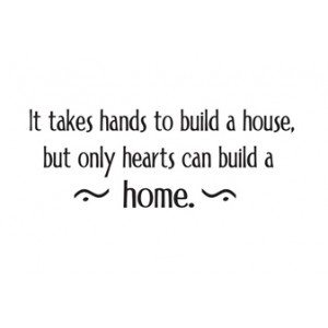what is the meaning of home is where the heart is quora