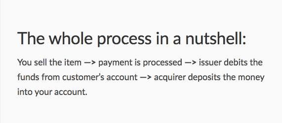 How do card payments work?